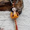 Porte-clefs lillipuce squaw lemon 3 cm