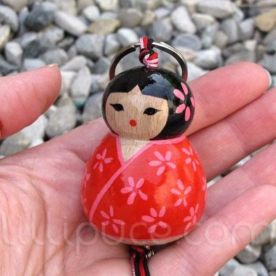 Porte-clefs et bijoux de sac 5,5 cm